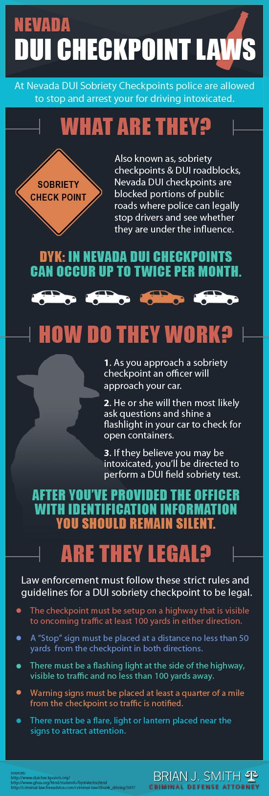 Here's what you need to know if you find yourself at a #DUICheckpoint. #law #drunkdriving #driving #roadrules