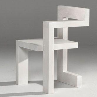 Steltman chair by Gerrit Rietveld