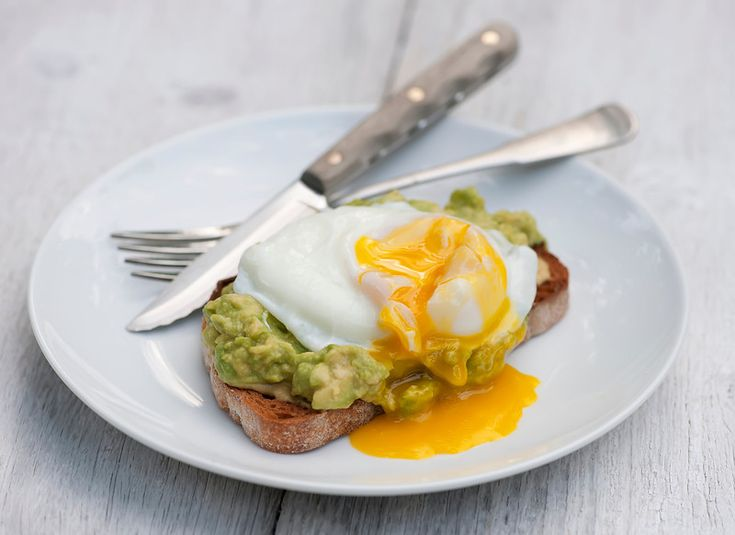 Avocado + toast + poached egg