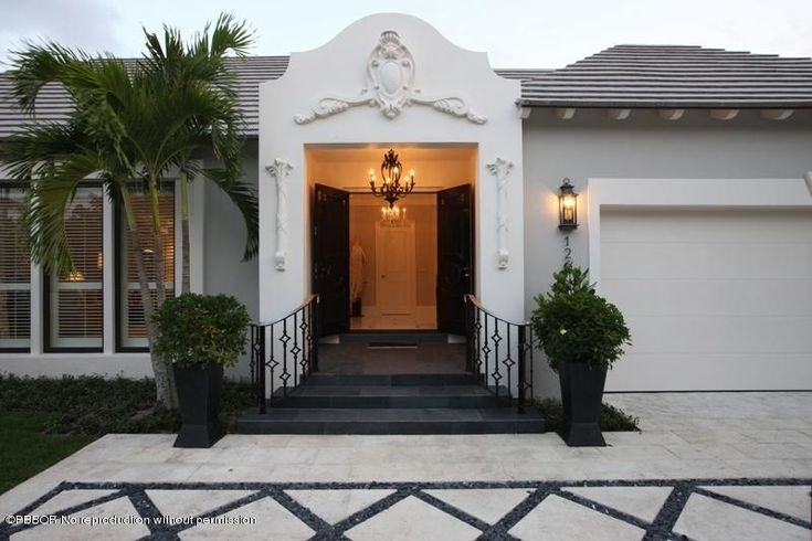 Astonishing Beautiful Palm Beach Hollywood Regency Home For Sale I Love The Front Doors And Entry Door Handles Collection Olytizonderlifede