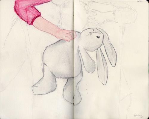 Mali zajec. by Kaja Zalokar (moleskine)
