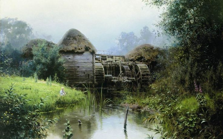 pintura Vasiliya Polenova - 06