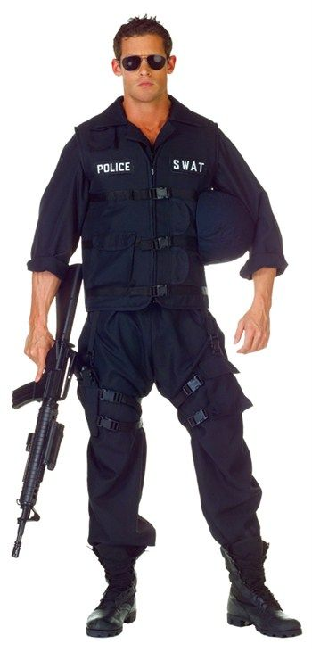 Nice Costumes Swat Adult Costume just added...