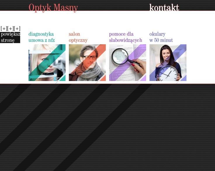 optician website v1