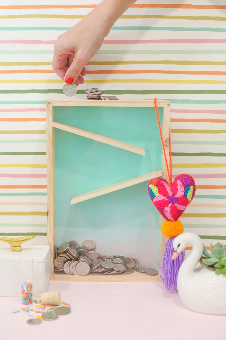 How to make a DIY rolling coin bank