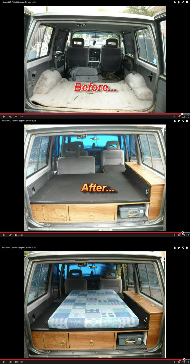 Nissan GQ Patrol Sleeper Camper build  -  by MrFalloffalot  -    http://youtu.be/USn9yLs_3J0