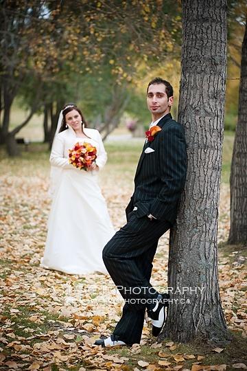 Trash the Dress in Banff (calgary wedding photographer)