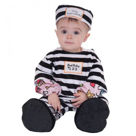 Infant Toddler Convict Costume