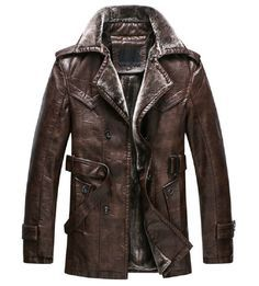 Chaqueta Cuero Hombre Leather Jacket 2015 Breasted Full Rushed Promotion Leather Coat Veste Cuir Homme Genuine Jacket Men HOT-in Leather & Suede from Men's Clothing & Accessories on Aliexpress.com   Alibaba Group