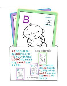 Printable flashcards - Hungarian abc cards - Braintrapp for my children