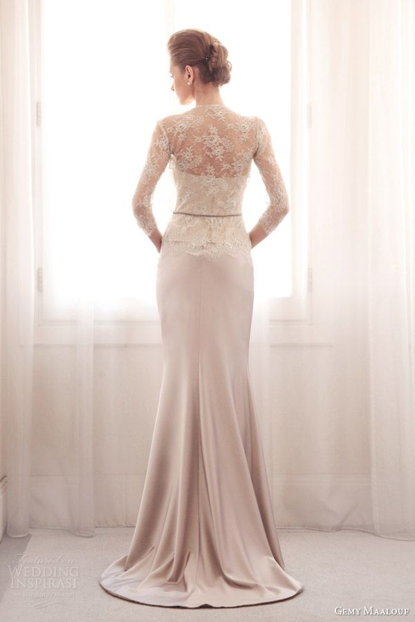 Gemy Maalouf Bridal 2014 Wedding Dresses | Wedding Inspirasi