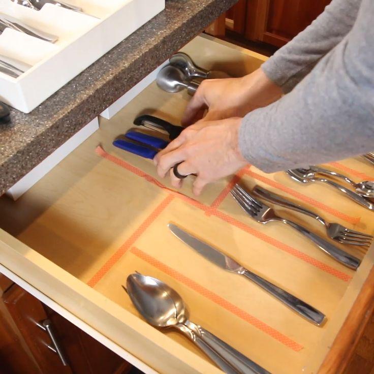Make Custom DIY Drawer Dividers!