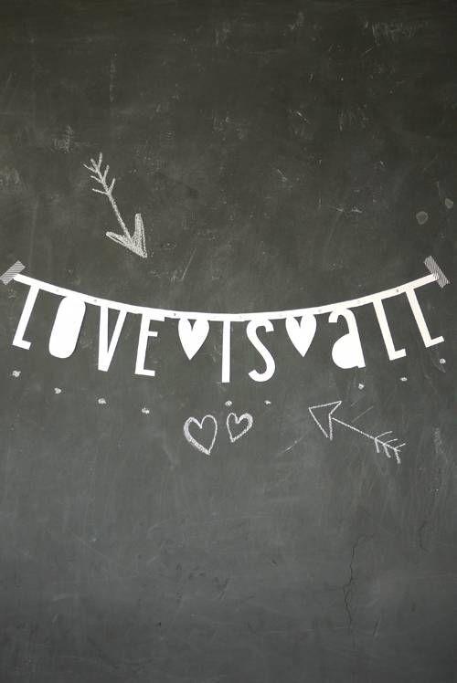 Love is all! #words #liefde
