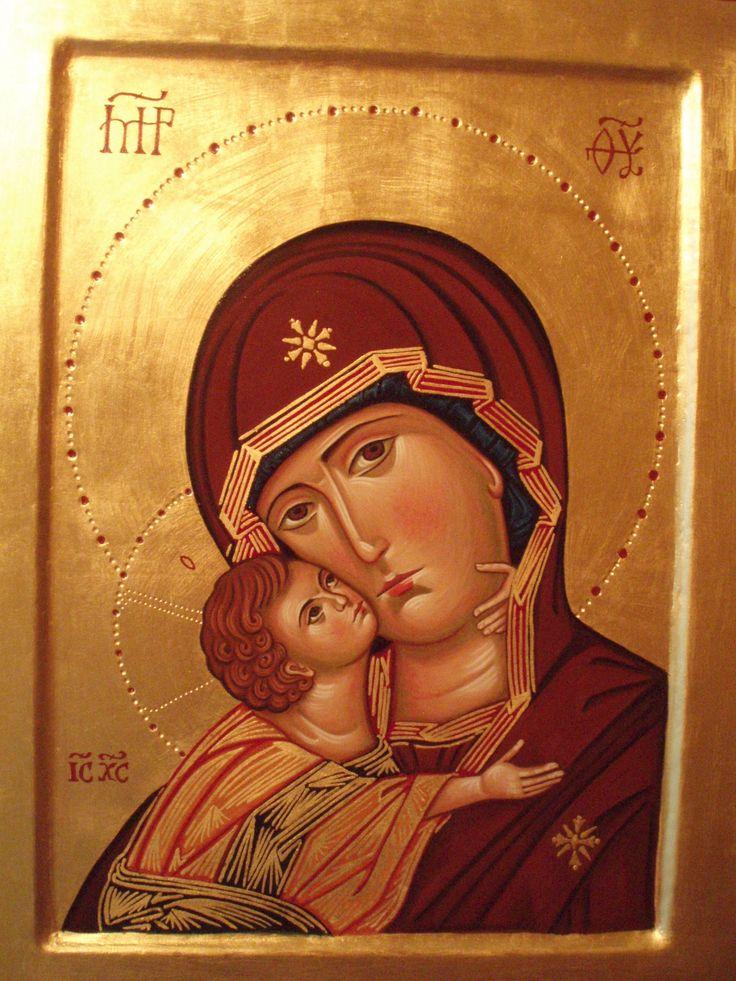 madre di Dio di Vladmir per mano di Assunta Fraraccio