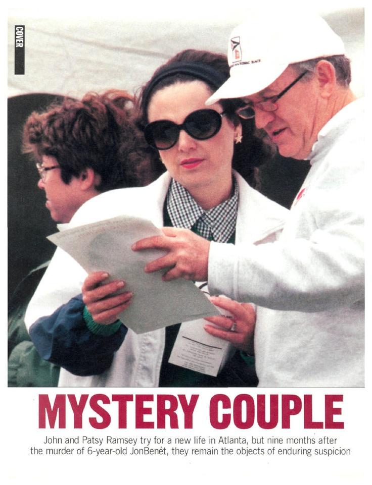 1997 Mystery Couple - John Ramsey, JonBenet Ramsey, Patsy Ramsey : People.com