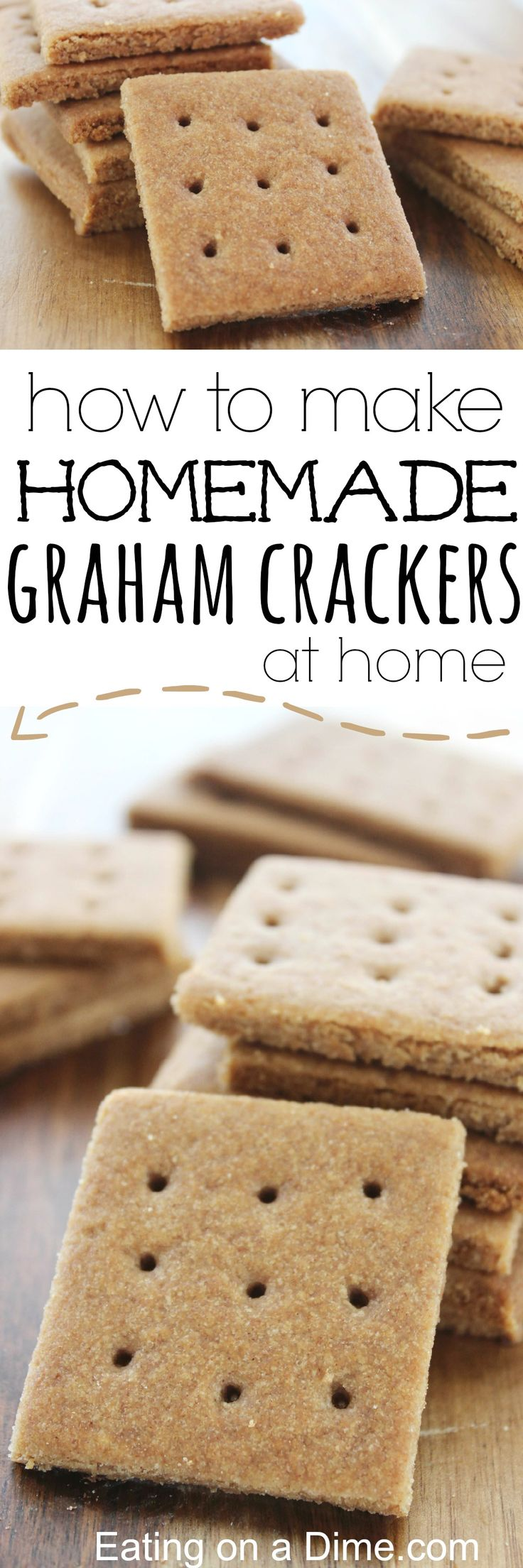 how to make homemade craham crackers at home