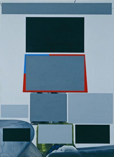 Eberhard Havekost, Zensur, B07, Oil on Canvas, 2007 popcorn.typepad.com