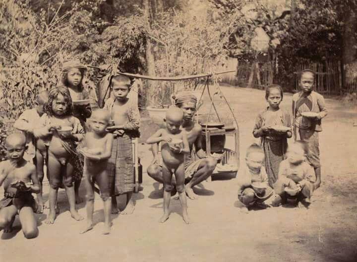 Potret anak-anak di daerah Semarang, 1900