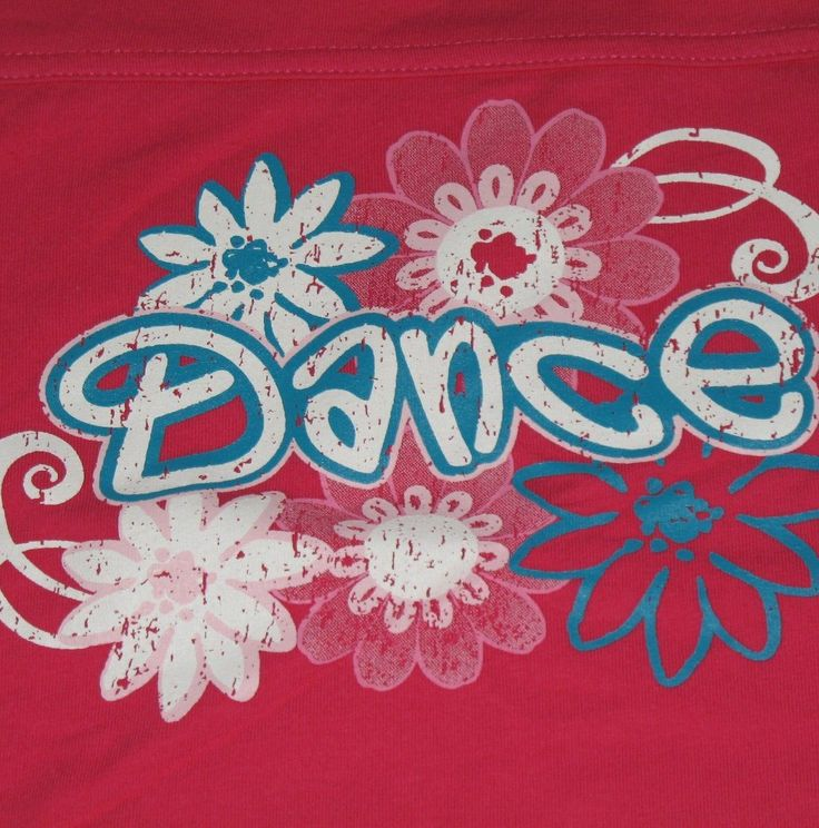 Lovely t-shirt for the little girl who loves dance! #dancing #tshirts