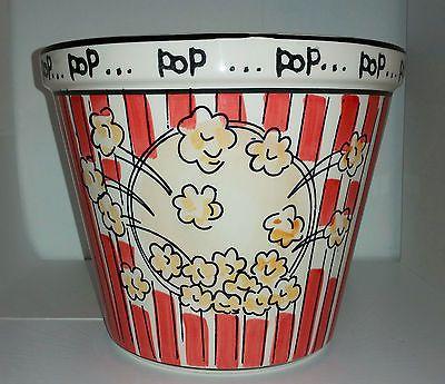 Kitchen Prep 101 Ceramic Popcorn Bowl HUGE by Tabletops Unlimited
