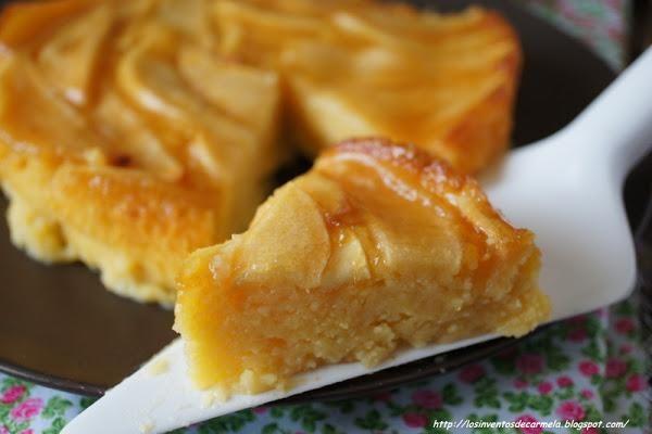 Ponte manos a la obra y prepara esta tarta de manzana del blog LOS INVENTOS DE CARMELA.