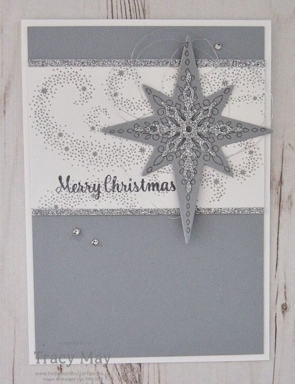 Star of Light by Stampin' Up! It's Thursday which means it's time for Create with Connie & Mary Sketch Challenge #CCMC423