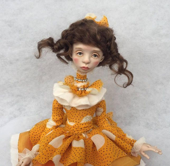Art doll,ooak doll,collecting doll,clay doll,human figure doll, polymer clay doll,art clay doll,decorative doll by JuraD on Etsy
