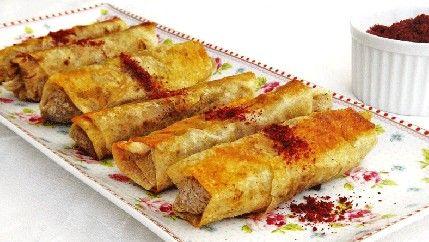 طريقة عمل رولات المسخن - Delicious #oriental #appetizer #recipe