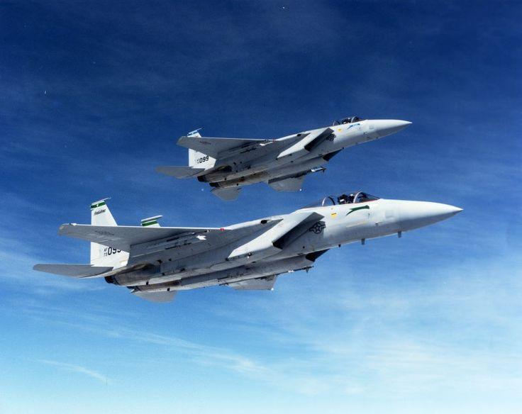 """USAF McDonnell F-15A """"Eagle"""" 73-0093 405TTW 550TFS"""