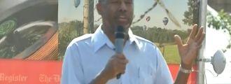 Dr. Ben Carson invokes God and WOWS Iowa Crowd!