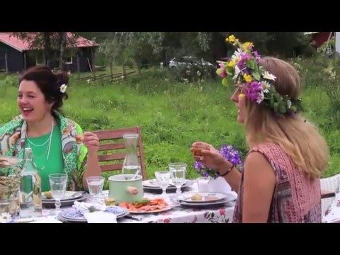 How to celebrate Swedish midsummer