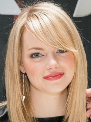Emma StoneEasy Hairstyles, Spring Makeup, Hair Colors, Hair Cut, Emma Stones Hair, Emma Stones Lipsticks, Hair Style, Beautiful Secret, Peaches Blushes