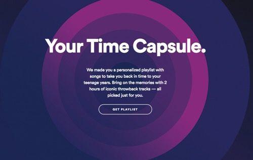 Spotify incluye la cápsula del tiempo en su servicio   Spotify es el rey indiscutible en cuánto a servicios de música en Streaming son millones de usuarios entre gratuitos y de pago que utilizan el servicio por tal razón es importante estar innovando en especial cuándo la competencia empieza a incrementar.  Basados en ese principio Spotify integra en su servicio una recomendación semanal disponible durante toda una semana a partir del día Lunes en la cuál te recomiendan una lista con 30…