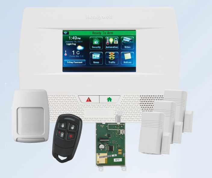 The all new Honeywell LYNX Touch L5210 wireless security and home automation system. http://www.geoarm.com/honeywell-lynx-touch-l5210-cellular-wireless-security-system-kit.html #honeywell #home #security #homesecurity #tech #alarm #system #alarmsystem