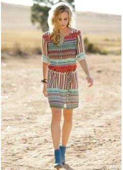 Bedrucktes Kleid (John Baner JEANSWEAR)