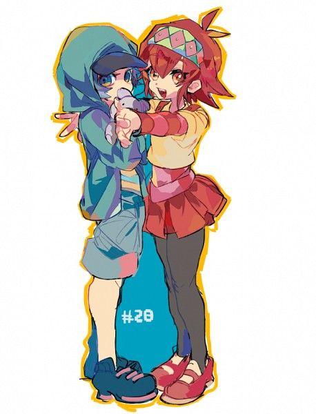 Ayu ayukawa and Reira Akaba  Yugioh Arc-v
