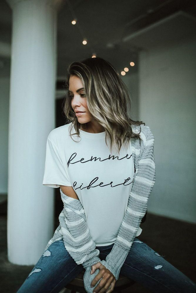 Femme Liberte graphic tee    statement tee    feminist tee    how to style a t-shirt    casual outfit inspiration    street style