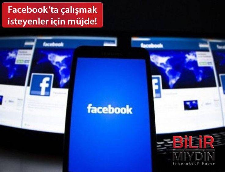 Facebook'ta çalışmak isteyenler için müjde! - https://bilirmiydin.com/facebookta-calismak-isteyenler-icin-mujde/