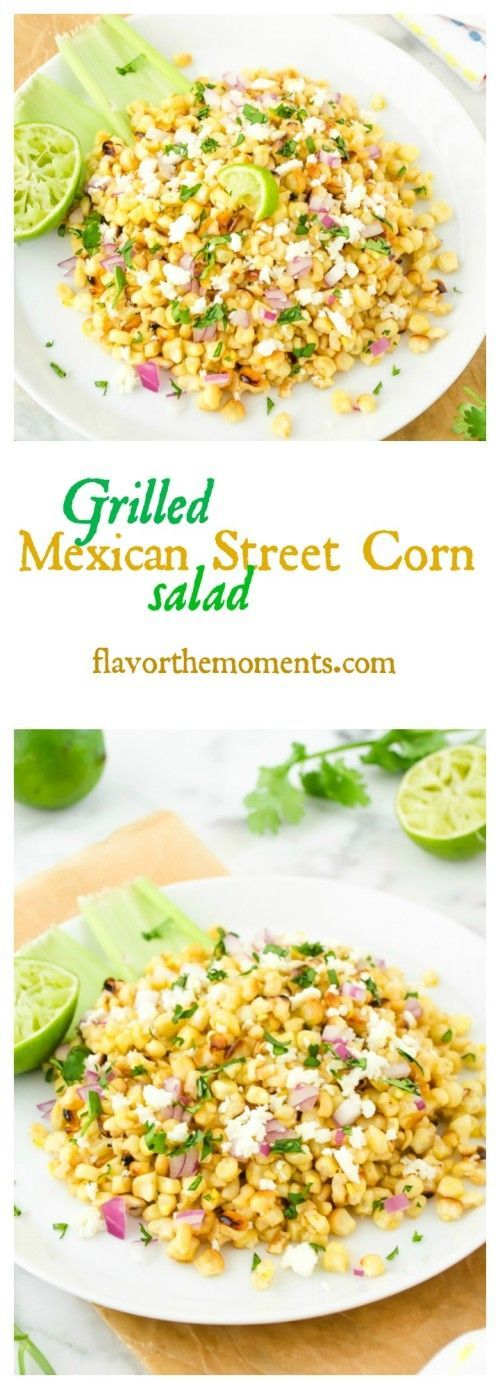 grilled-mexican-street-corn-salad-collage | flavorthemoments.com