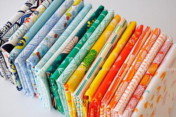 Meadow+Fabric+Bundle+Fat+Quarter+Bundle+Half+Yard+by+FabricBubb,+$55.00