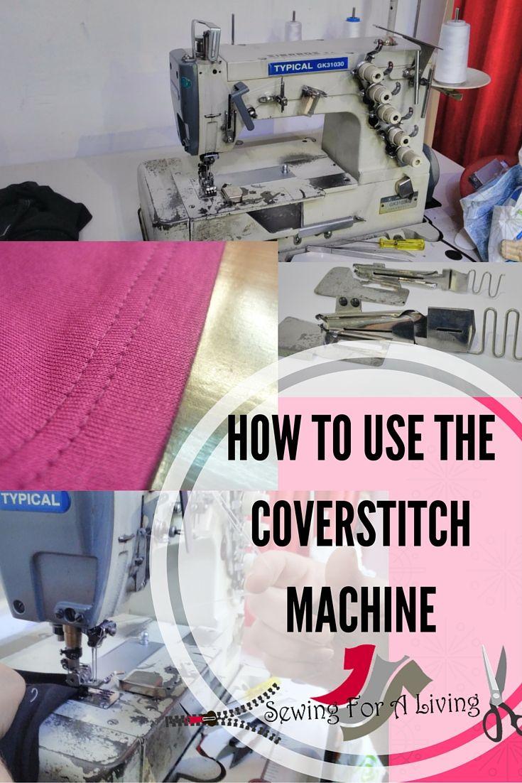 what is a coverstitch machine