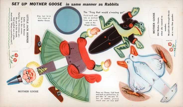 Mother Goose and other Popular Characters - Mother Goose