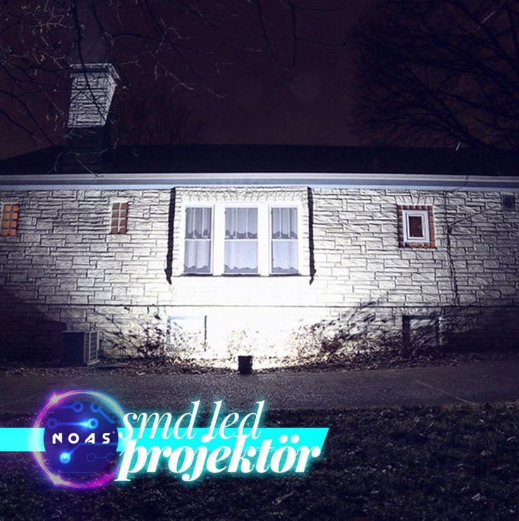 Smd led projektörler stoklarımızda mevcuttur. 10Wdan başlayan smd led projektörler 200W a kadar seçenek sunmaktadır. Tüm projektörler IP/65 baremine sahiptir. Ürünlerimiz 2 yıl garantili olup 150 derece ışık açısına sahiptir. NOAS Led Aydınlatma - noas.com.tr #60x60 #ledpanel #5050 #şeritled #led #barled #floresan #ledfloresan #armatur #armatür #neon #hortumled #aydınlatma #seritled #led #rgb #magic #adaptör #noas #yusemled #light #ledlights #lighting #mimar #içmimar #architecture…
