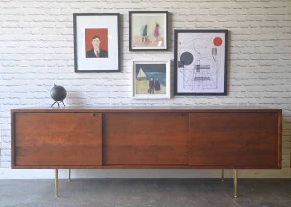 Roosevelt Credenza - Solid Cherry - Antique Cherry Finish