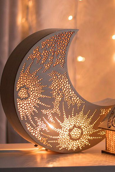 A Moon Lamp Is The Finishing Touch To Sweet Dreams