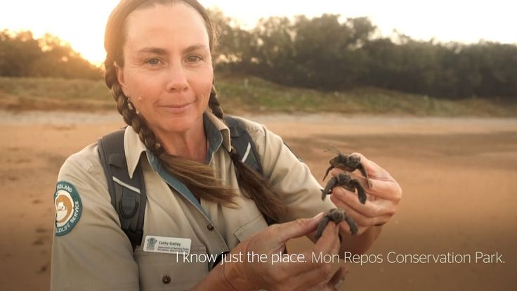 I know just the place: Cathy Gatley, Mon Repos Conversation Park, Bundaberg