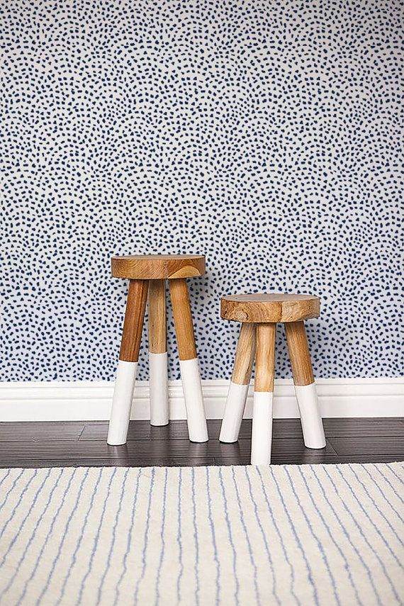 Self adhesive Cute Spot pattern Wallpaper / Scallop by Betapet