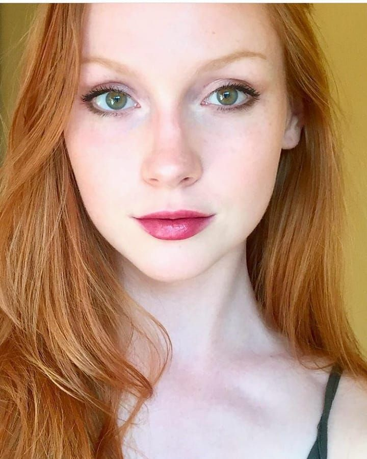 Only The Most Beautiful Redheads Ginger Girls 1