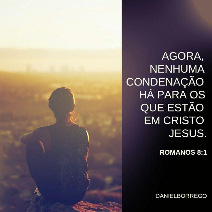 """#Repost @prdanielborrego with @repostapp ・・・ """"Agora, NENHUMA condenação há para os que estão em Cristo Jesus."""" Romanos 8:1  #DanielBorrego  #EleMudouAMinhaVida  #Páscoa2017"""
