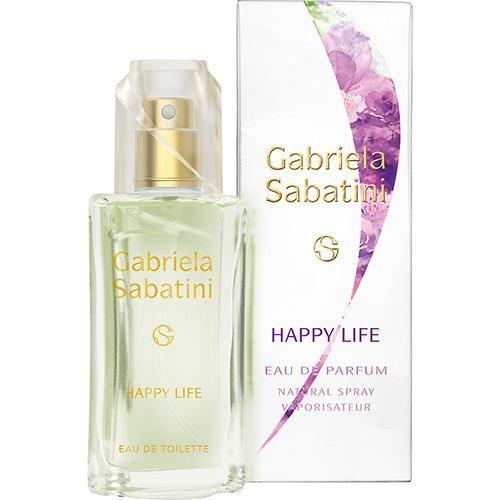 Perfume Happy Life Gabriela Sabatini Feminino Eau de Toilette 30ml - R$ 79,99 ou em 2x de R$ 39,99 sem juros (o preço pode variar sem aviso prévio. Consulte o produto no link abaixo)